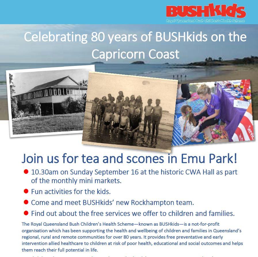 Celebrating 80 years of BUSHkids on the Capricorn Coast