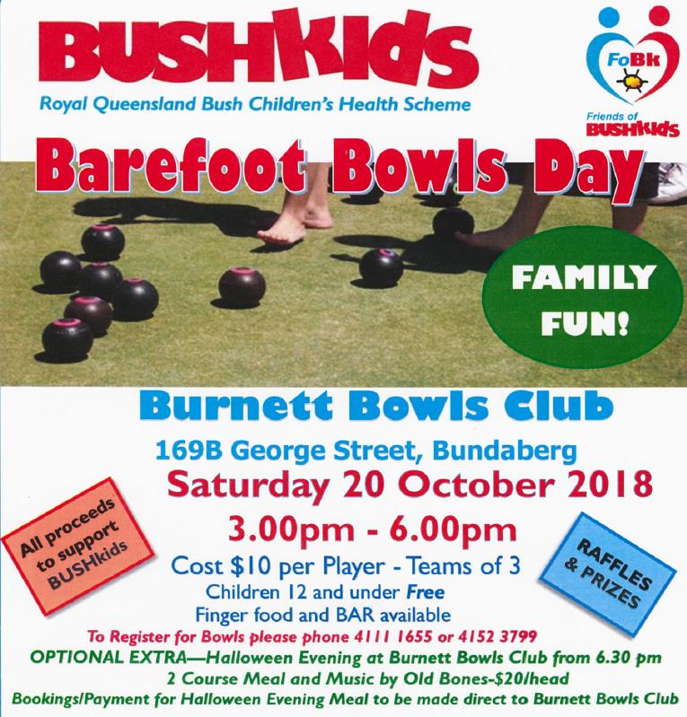 Bundaberg – Barefoot Bowls Day