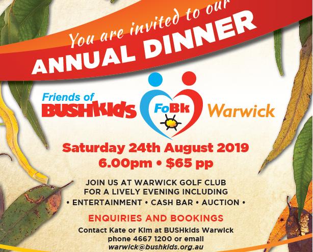 Warwick FoBk Golf Dinner 2019