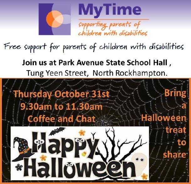 MyTime Playgroup 2 – Halloween Coffee and Chat – Rockhampton