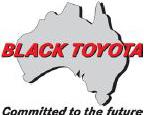 black toyota logo