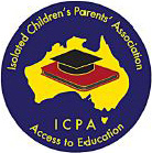 isolated childrens parents logo