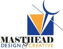 masthead design creative logo