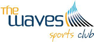 the waves sports club logo