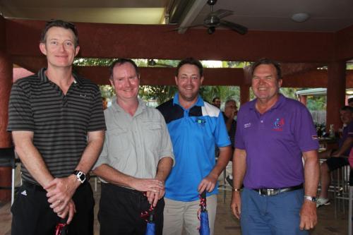 Runner up (Grant Morgan, John Hooper, Nathan Monk, Charlie Wilson)